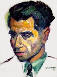 Vahe-Vahian's Portrait by the great Armenian Painter, Ashod Zorian-1