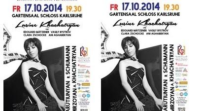 Flyer_Eröffnungskonzert der Deutsch-Armenischen Konzertreihe 2014, 17. Oktober-1